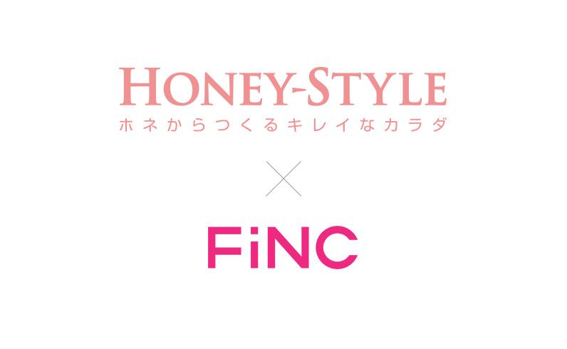 HONEY×FiNC