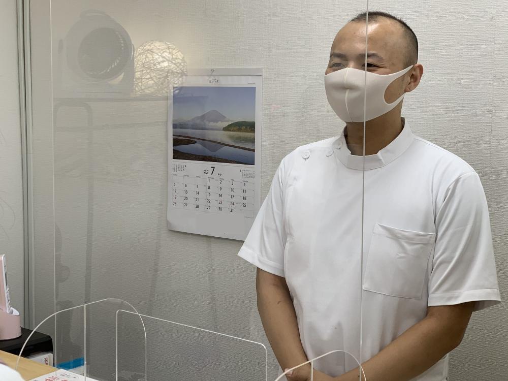 和楽整体院の新型コロナウイルス感染症対策について